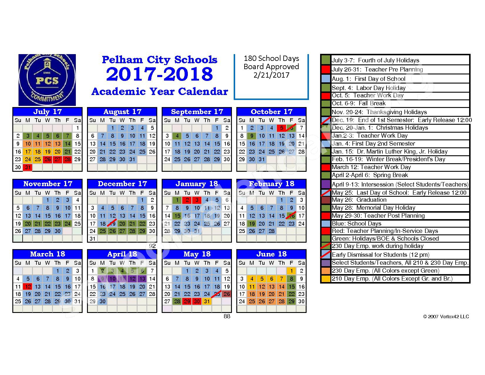 New York City School Calendar 2016 2017 Tuition And Fees 2017 2018 The New School In New York City Pelham City School District Calendars – Georgia