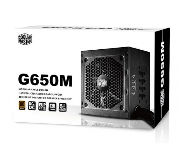 Cooler Master G650m 650w Box Zasilacze Do Komputera