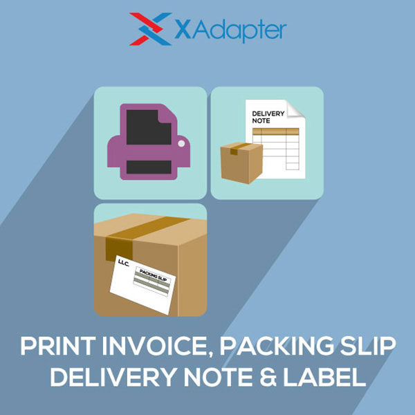 WooCommerce PDF Invoices and Packing Slips Plugin - XAdapter - packing slip