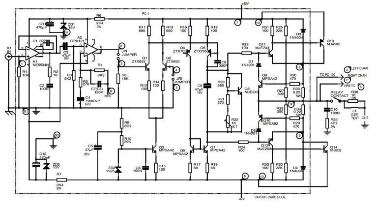 simple siren by 2n2907 transistor