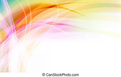 Vector abstract background into corner.