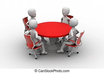 Conference Stock Illustration Images 29 312 Conference - Tischclipart