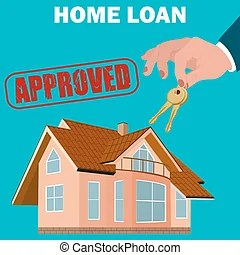 Home loan Vector Clipart Illustrations. 5,577 Home loan clip art vector EPS drawings available ...