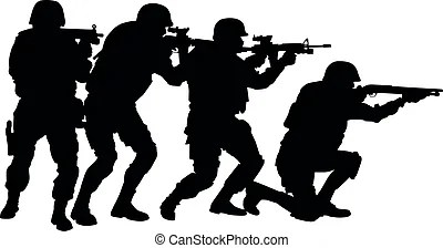 3d Wallpaper Cm Launcher Swat Special Weapons And Tactics Icons Stickman Pictogram