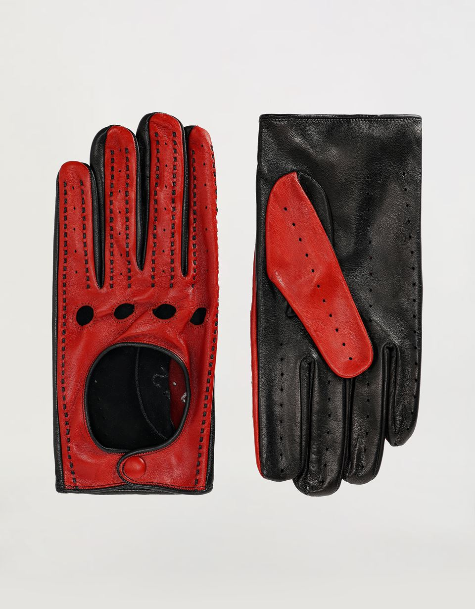 Auto Handschoenen Ferrari Men's Driving Gloves In Nappa Lambskin Man