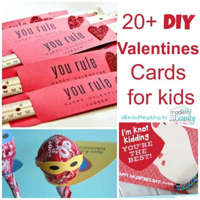 Valentine\u0027s Day Card Ideas for Kids