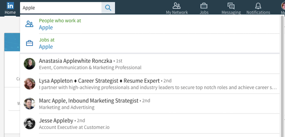 How to Find Any Person, Job or Opportunity with LinkedIn Search - how to search resumes on linkedin