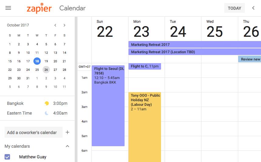 How To Start A Google Calendar Zapier How To Use Evernote With Google Calendar For Maximum Benefits 8 New Google Calendar Features You Should Start Using Now