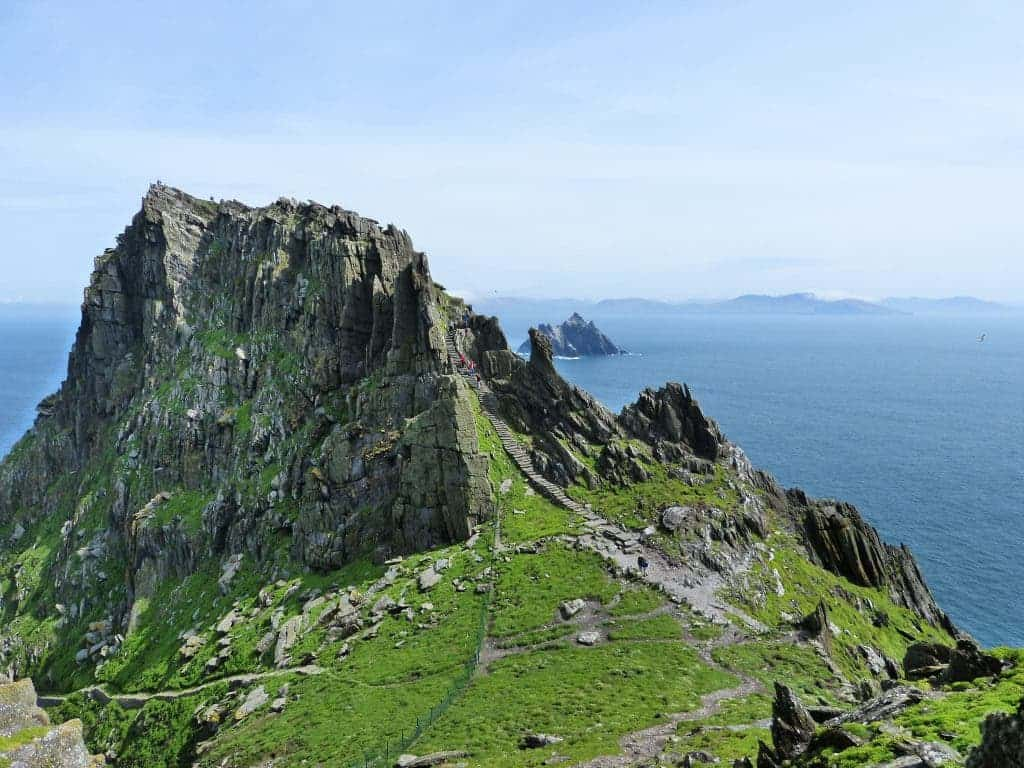 Shelf Wallpaper Hd Skellig Michael The Monastery In The Middle Of The Sea