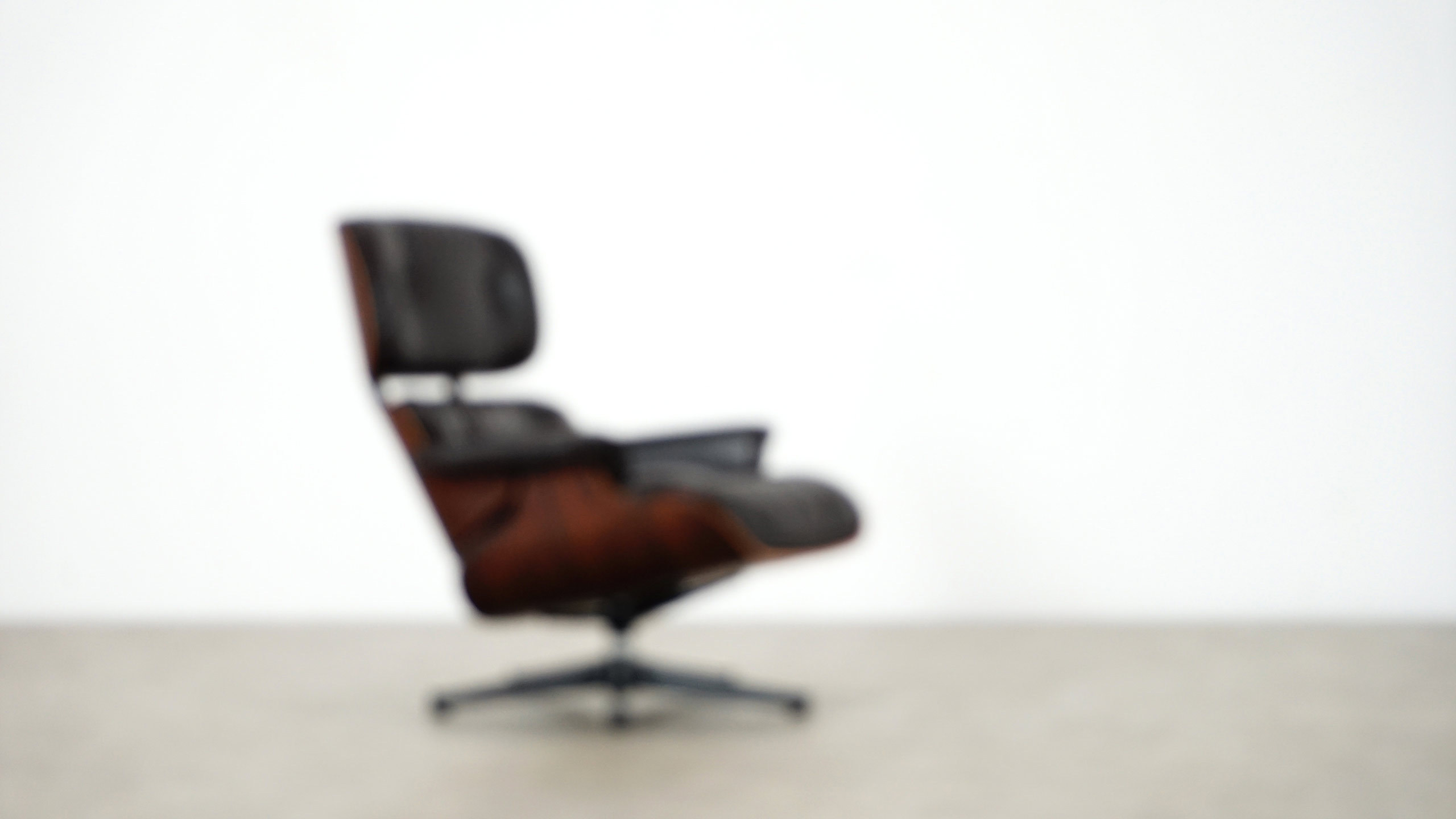 Charles Eames Charles Eames Lounge Chair By Herman Miller Darkbrown Leather