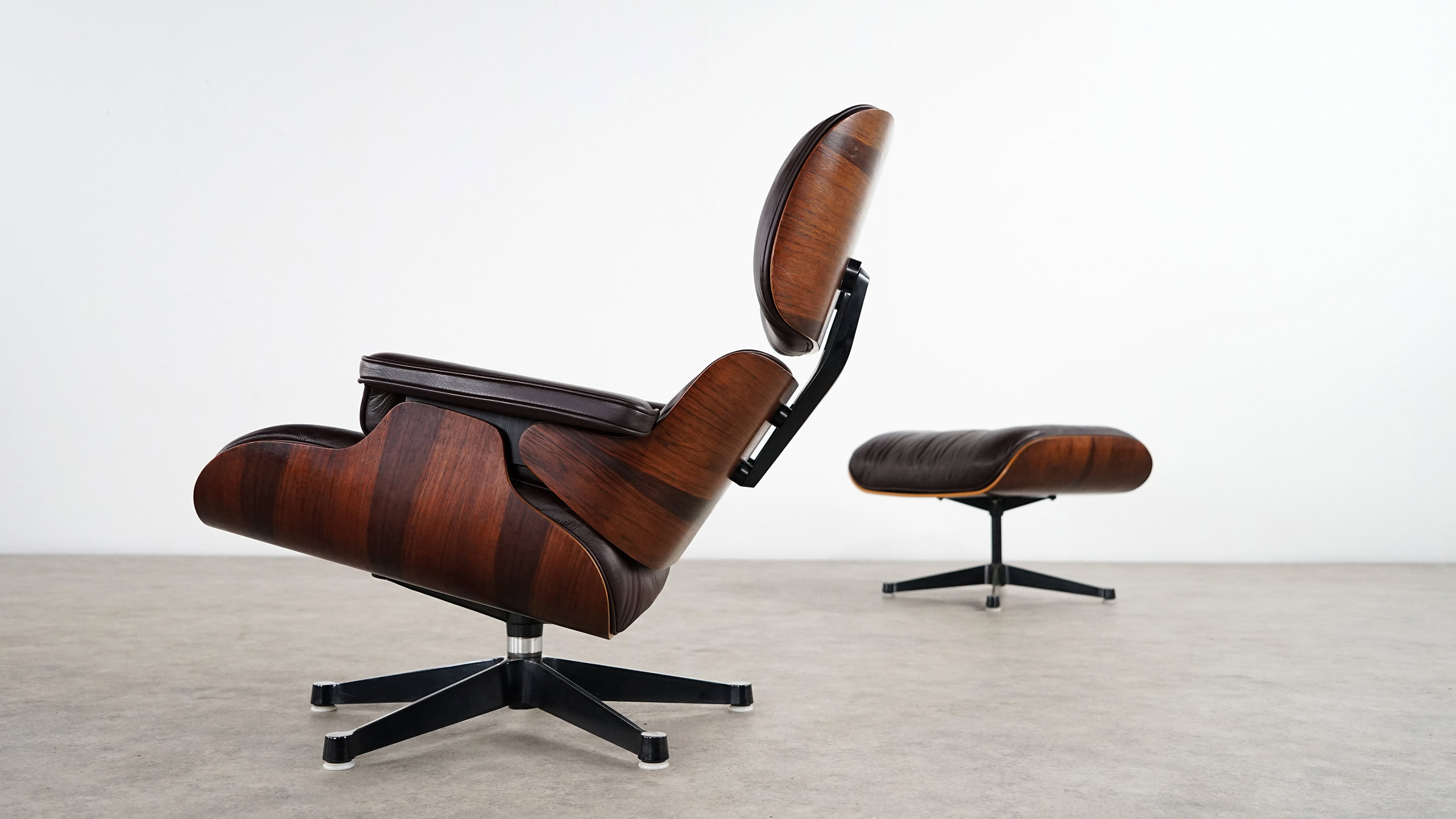 Charles Eames Charles Eames Lounge Chair Ottoman Herman Miller By Vitra Chocolate Leather