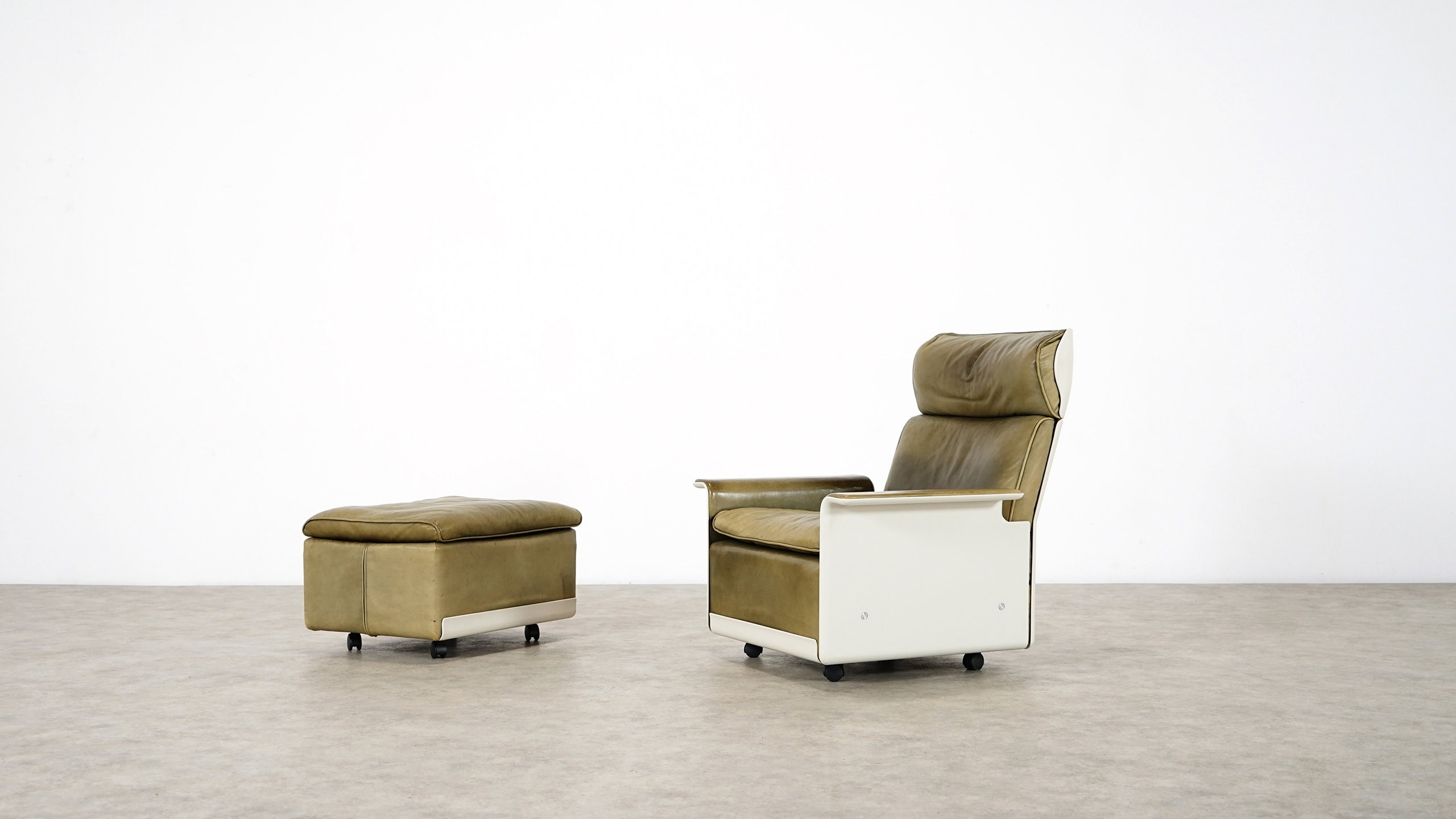 Chair Sessel Dieter Rams Lounge Chair Ottoman Rz 62 Vitsoe