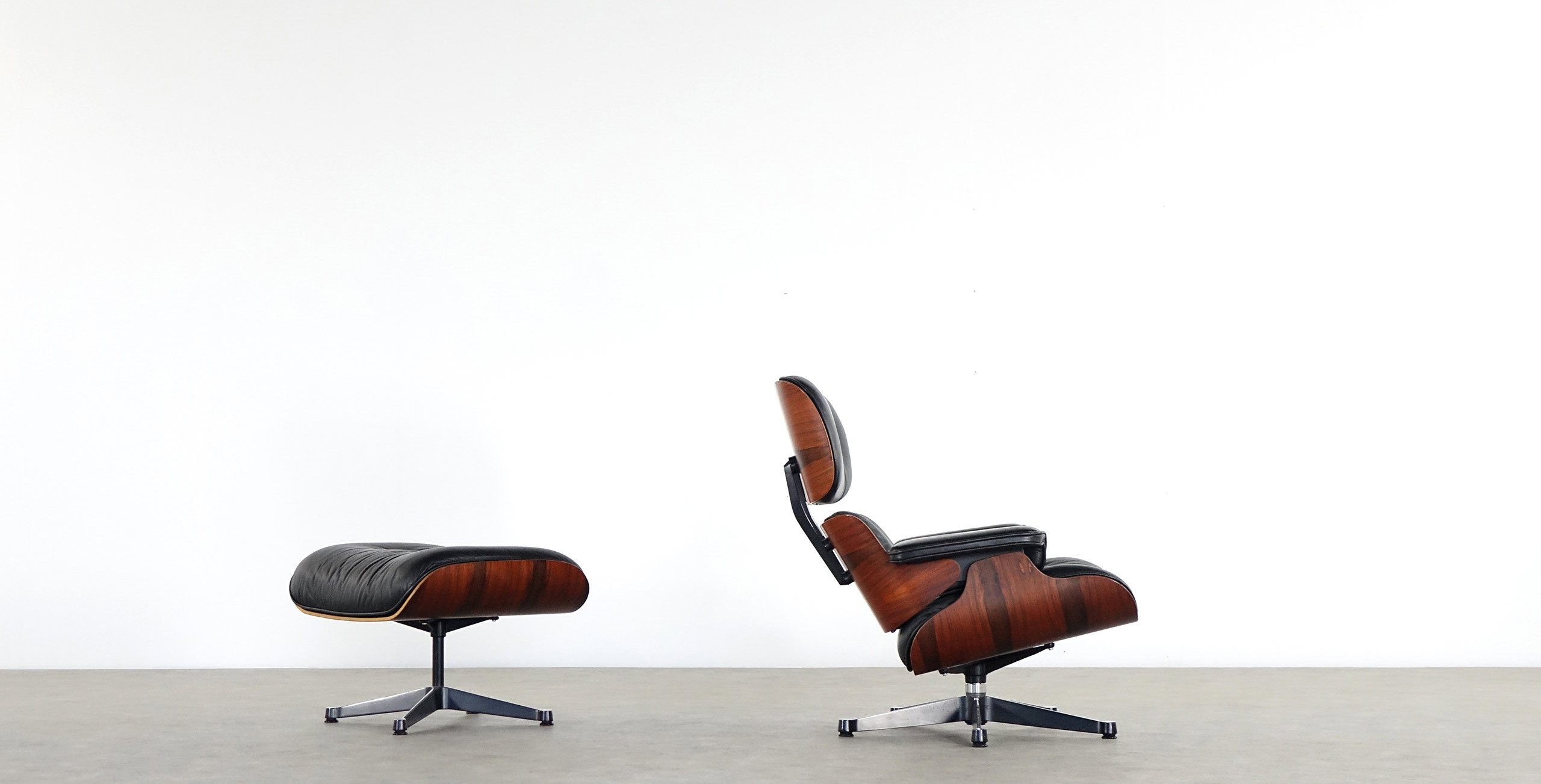 Vitra Eames Lounge Chair Dwg Charles Eames Lounge Chair Ottoman Herman Miller Rosewood