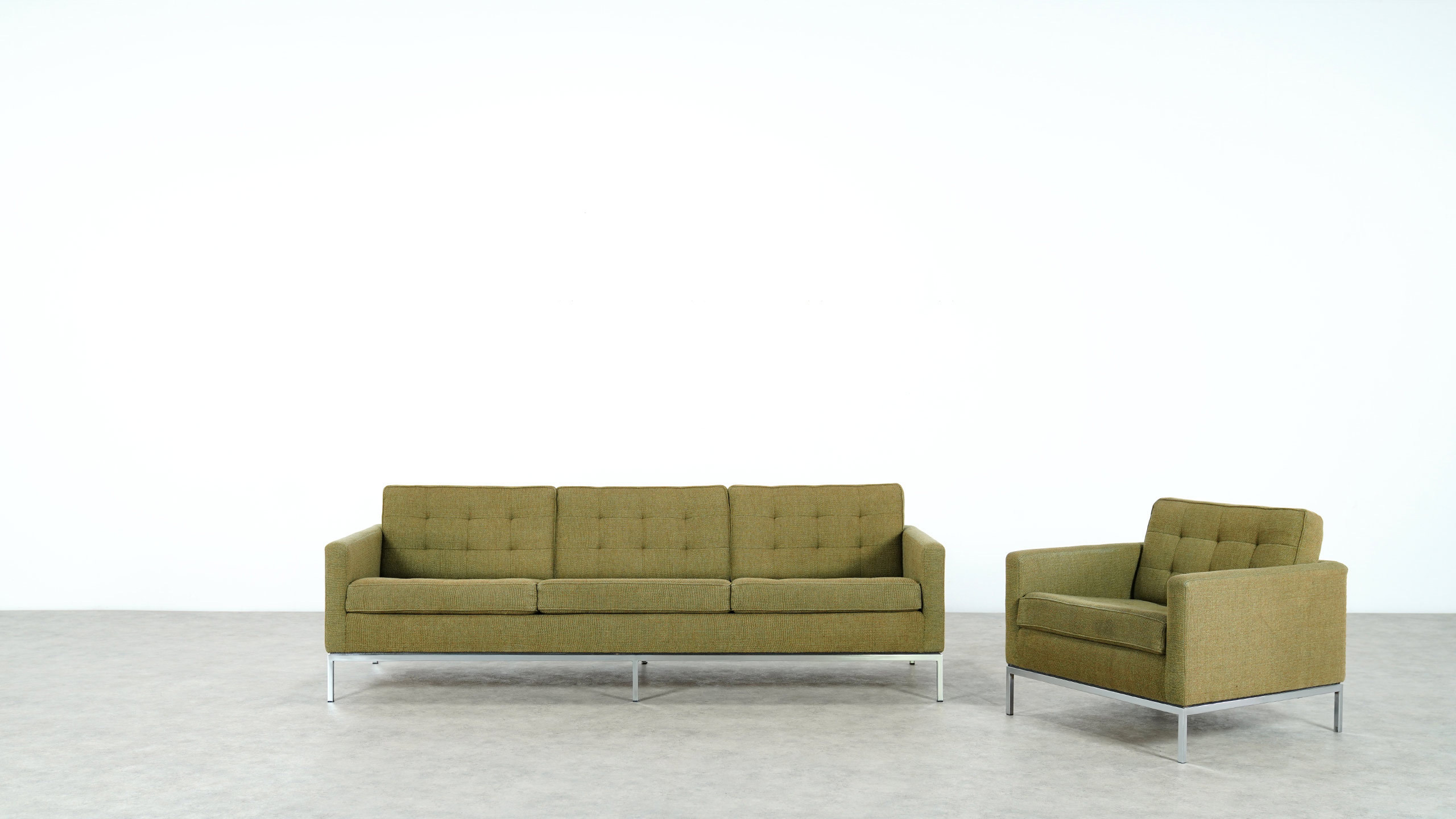 Knoll International Florence Knoll Sofa For Knoll International 1954
