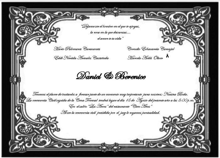 formatos para invitaciones de boda - Vatozatozdevelopment