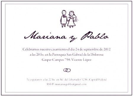 Invitaciones de boda (para imprimir!!)