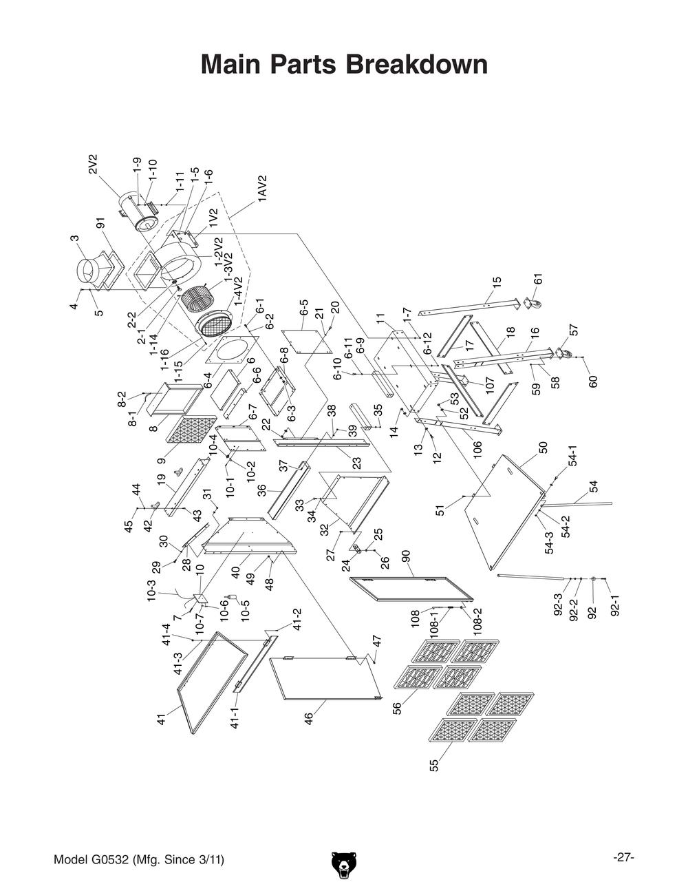 diagram of welding booth