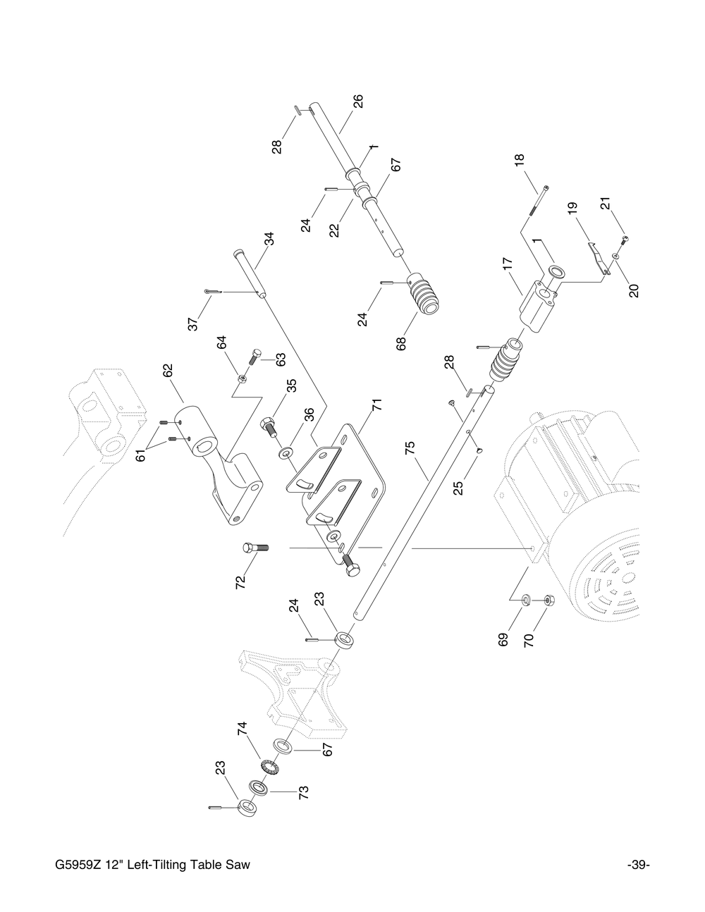 grizzly motor wiring diagram 220