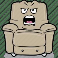 Arm, armchair, cartoon, chair, emoji, stuffed icon | Icon ...