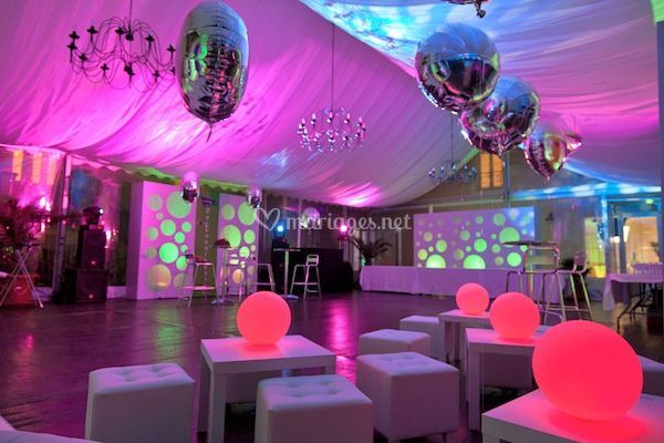 Decoration Discotheque Eclairage Be Bop Event