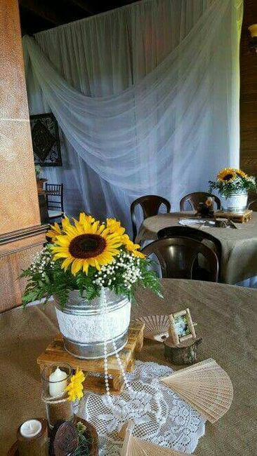Salon De Jardin 2017 Decoracion Con Girasoles.