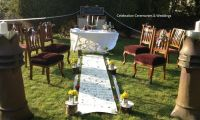 very small backyard wedding - 28 images - eclectic ...