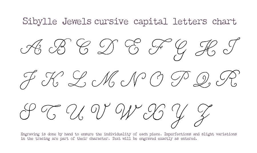 Fancy Cursive Letters Chart - 2018 images  pictures - Print - fancy cursive letters