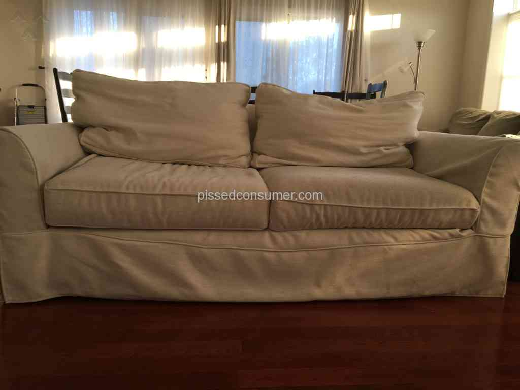 Made Sofa Reviews 53 Pottery Barn Sofa Reviews And Complaints Pissed Consumer