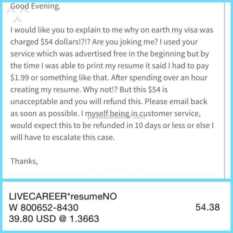 LiveCareer - Free Trial Review from Oakville, Ontario Oct 17, 2015