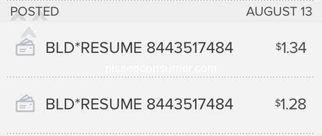 532 Resume Now Reviews and Complaints @ Pissed Consumer