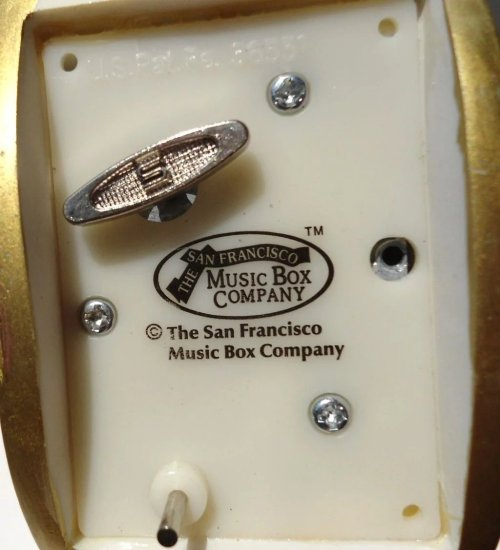 Medium Of San Francisco Music Box Company
