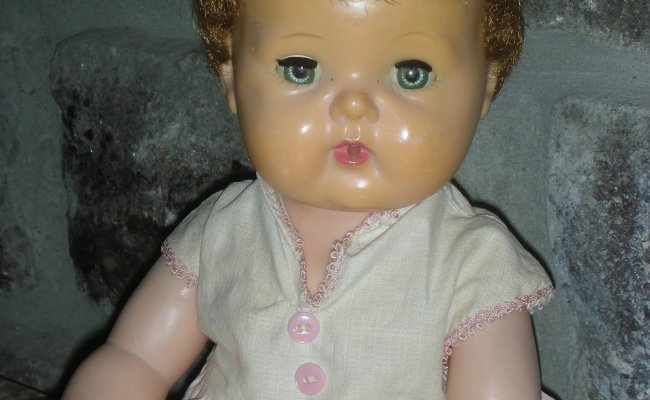 Vintage American Character 1950 S Tiny Tears Doll Drink