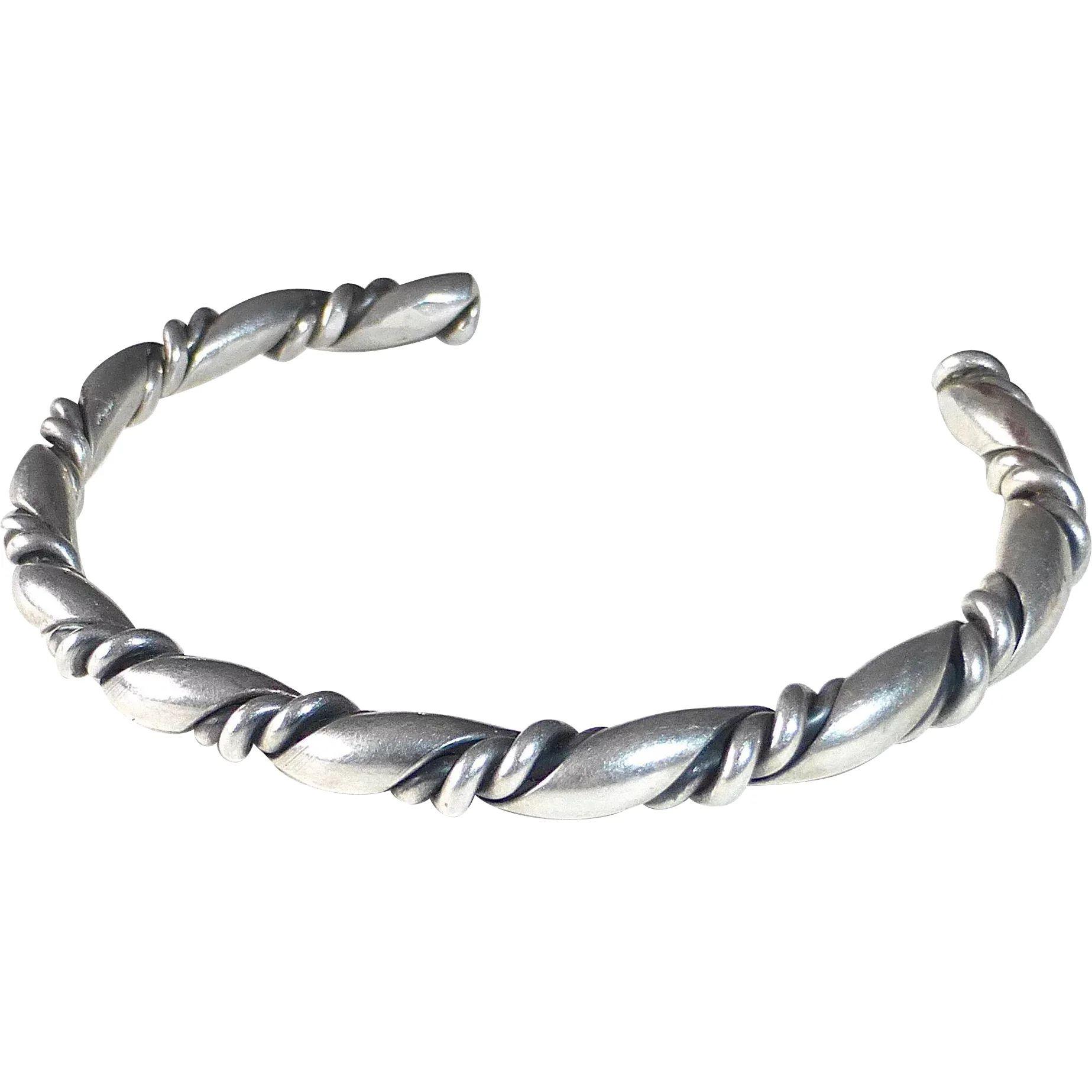 custom bracelet green dragon eye silver wire by ladypirotessa on