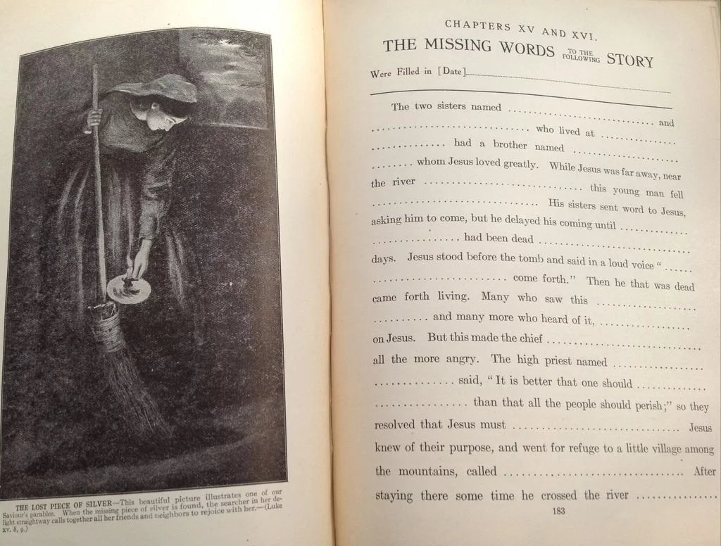 Hespa Interieur 1911 The Story Life Of Jesus By Jesse Lyman Hurlbut Best