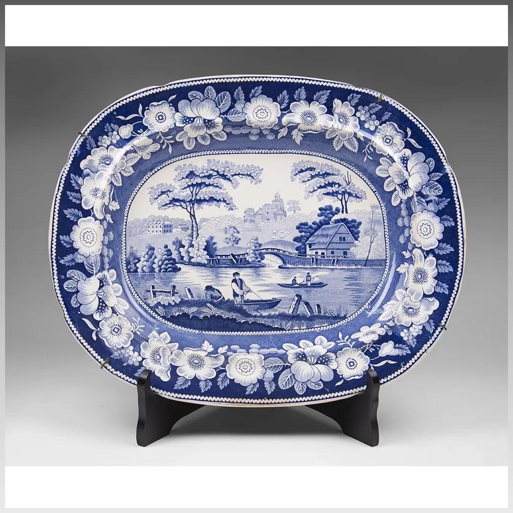 Fullsize Of Blue Rose Pottery
