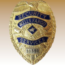 Snazzy Click To Expand Vintage Wells Fargo Security Services Badge Fay Wray Retailservices Wellsfargowfjaml Wells Fargo Jewelry Advantage Payment Address