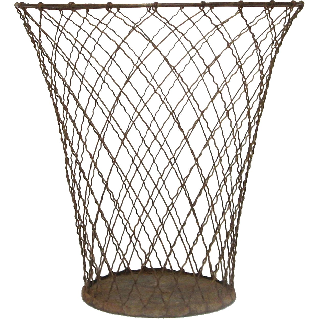 Shabby Chic Waste Baskets Mid Century Wire Waste Basket Paper Bin Garbage Pail Umbrella