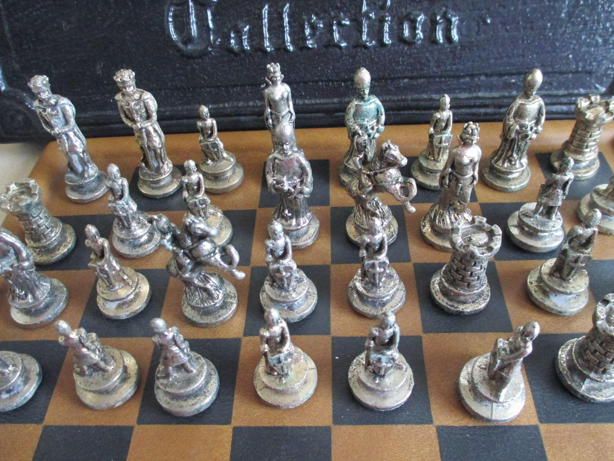 Die Collection 1957 Die Casting/master Collection Chess Set From ...