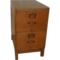 Oak File Cabinet Legal Size with 2 Drawers SOLD on Ruby Lane