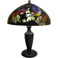 Handel lamp # 7026 from antiquecollectiblelamps on Ruby Lane