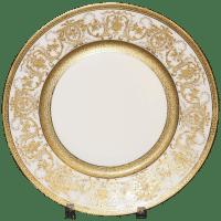 9 Limoges France Dinner Plates from gildedagedining on ...