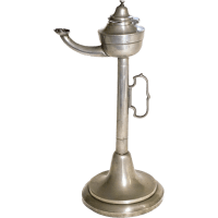19th C Students Pewter Whale Oil Lamp from 18thcantique on ...