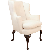 Antique George III Wing Chair from hollisandknight on Ruby