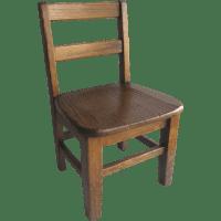 Vintage Oak Child's School Chair Sturdy : Black Tulip ...