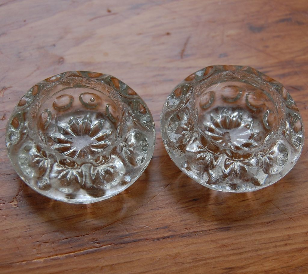 Antique Glass Salt Cellars Dimpled Pattern Sold On Ruby Lane