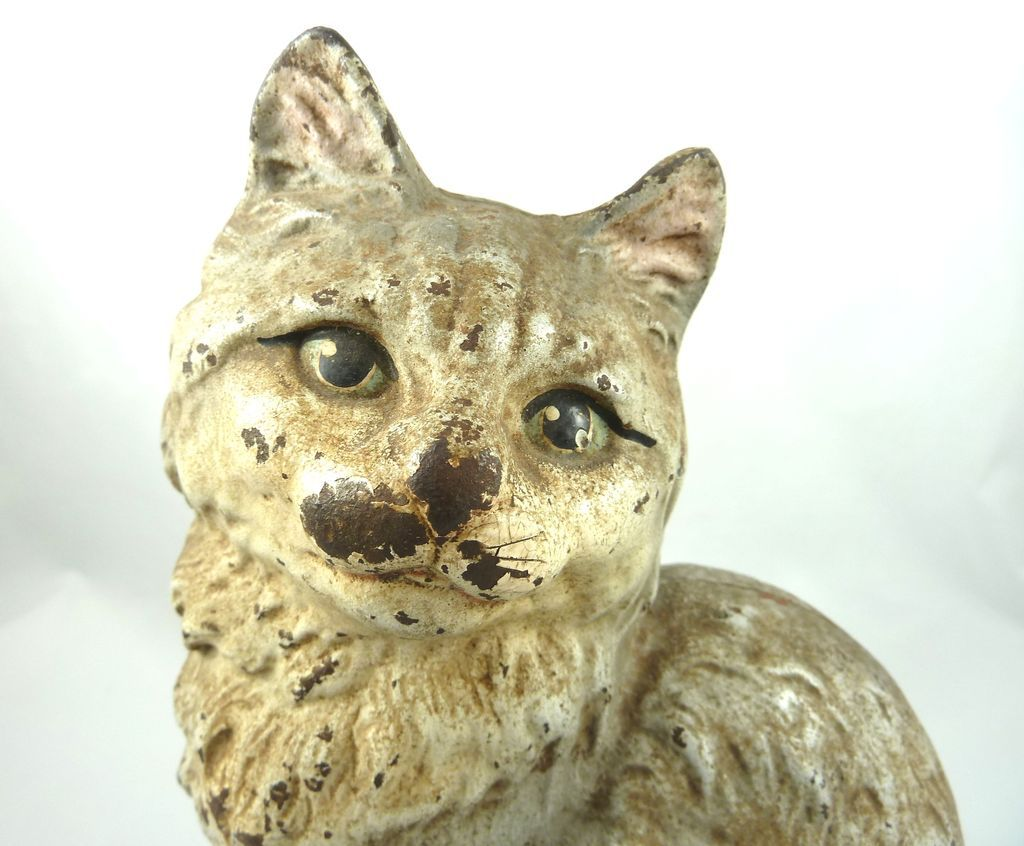 Cat Door Stops Antique Hubley Cast Iron Cat Door Stop From Yorkcottage On