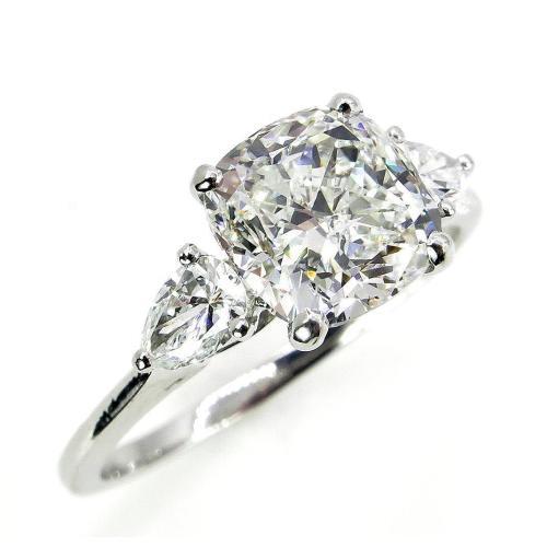 Medium Crop Of Cushion Cut Engagement Rings