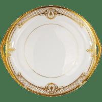 Rosenthal Dresden Cake Plate Platter Raised Gold Vintage ...