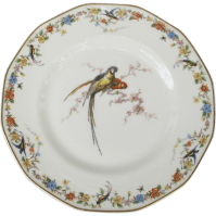 Haviland Limoges Arcadia Parrot Dinner Plates SOLD on Ruby ...