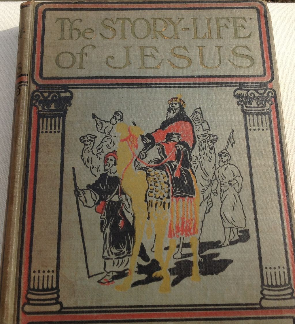 Hespa Interieur 1911 The Story Life Of Jesus By Jesse Lyman Hurlbut From
